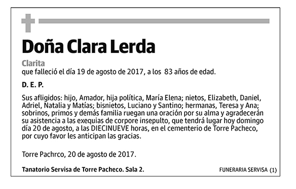 Clara Lerda