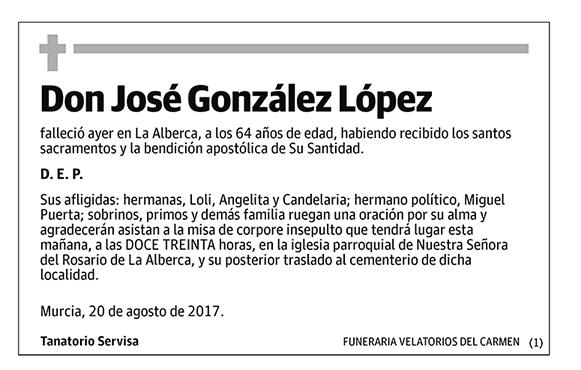 José González López