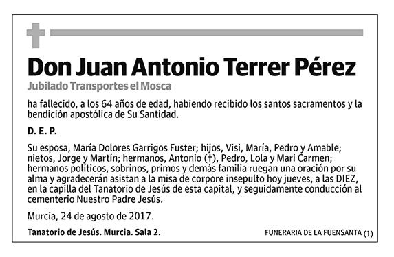 Juan Antonio Terrer Pérez