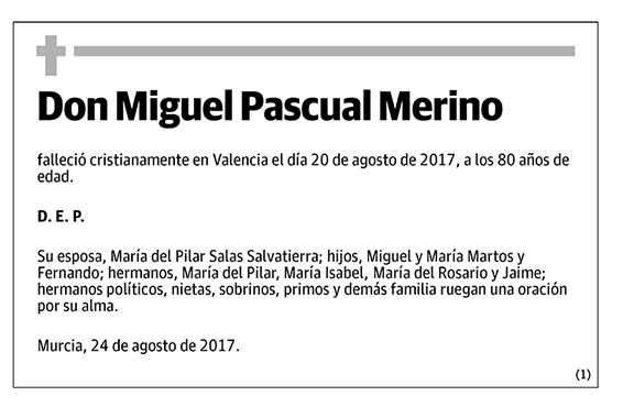Miguel Pascual Merino