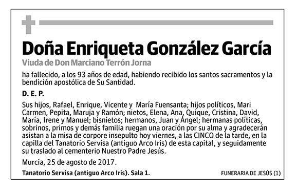 Enriqueta González García