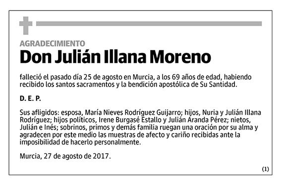 Julián Illana Moreno