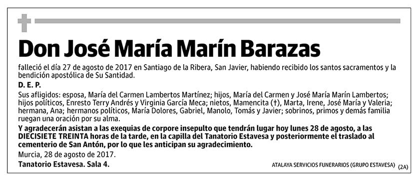 José María Marín Barazas