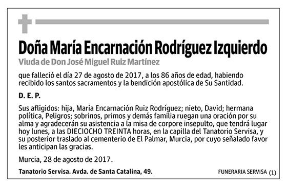María Encarnación Rodríguez Izquierdo