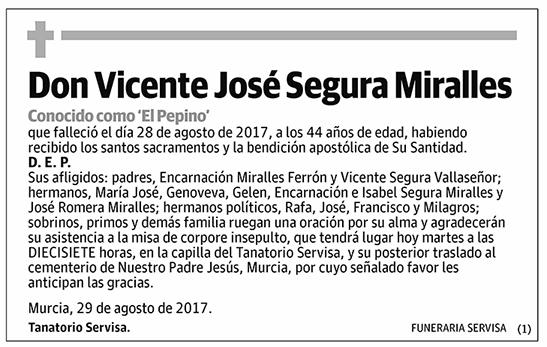 Vicente José Segura Miralles