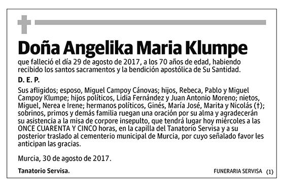 Angelika Maria Klumpe