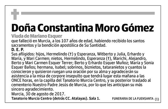 Constantina Moro Gómez