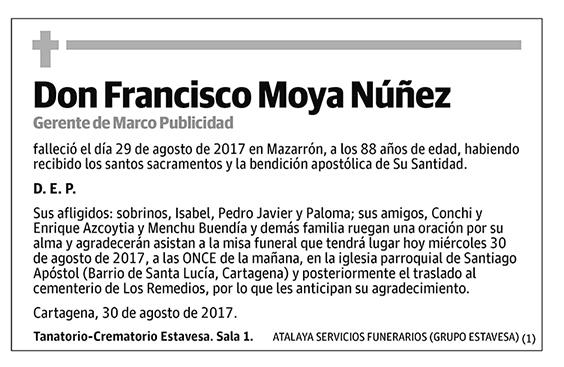Francisco Moya Núñez