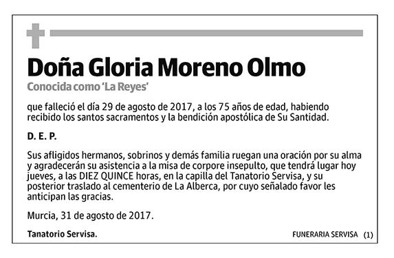 Gloria Moreno Olmo
