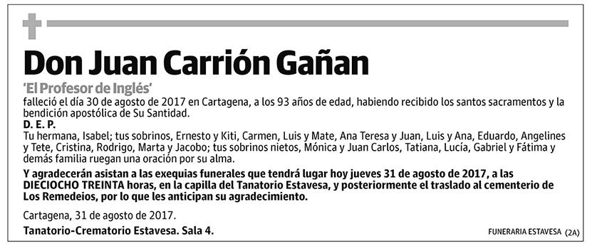 Juan Carrión Gañan