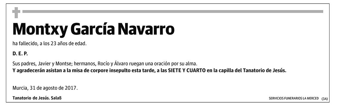 Montxy García Navarro