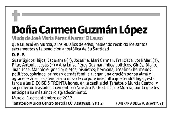 Carmen Guzmán López