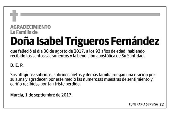 Isabel Trigueros Fernández