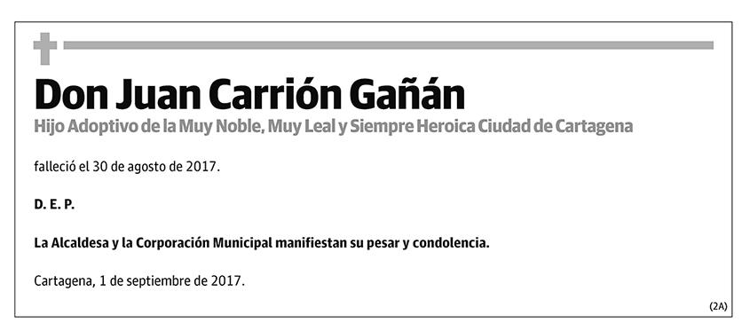 Juan Carrión Gañán