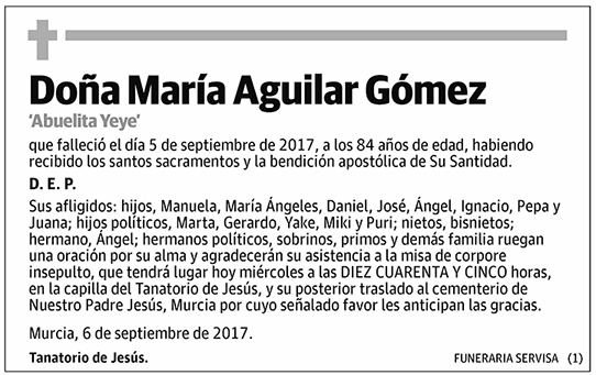 María Aguilar Gómez