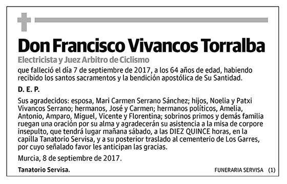 Francisco Vivancos Torralba