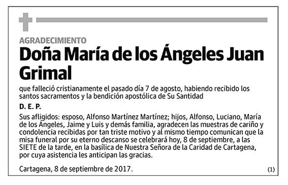María de los Ángeles Juan Grimal