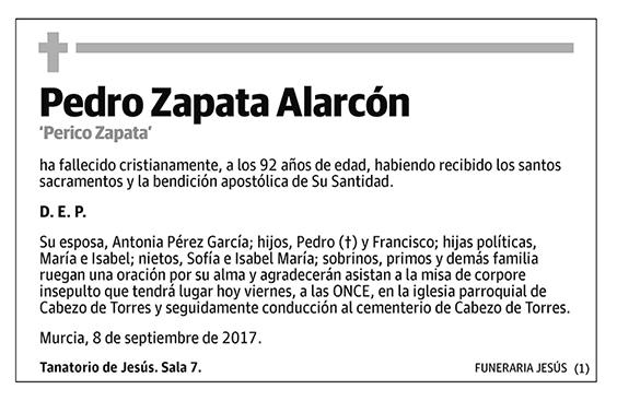 Pedro Zapata Alarcón