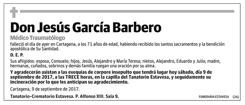 Jesús García Barbero