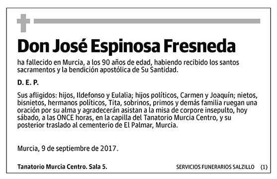 José Espinosa Fresneda