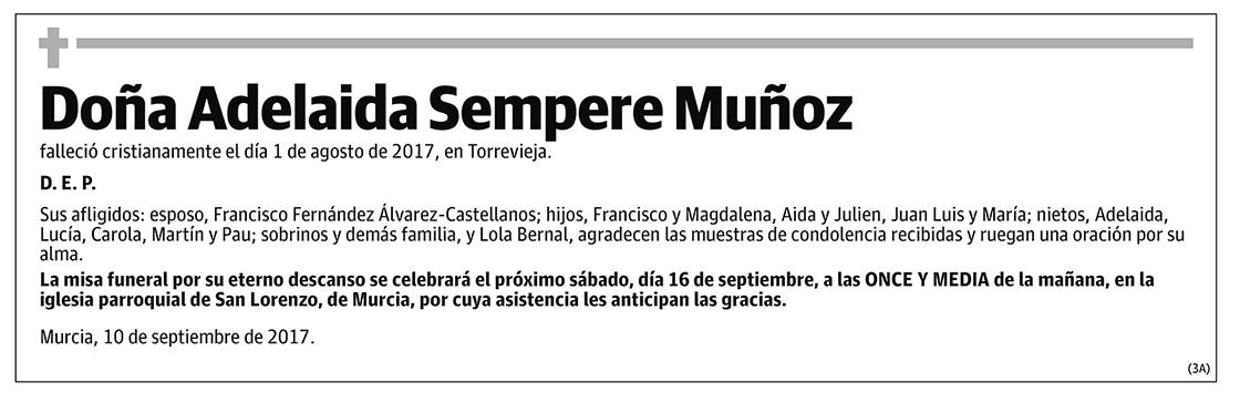 Adelaida Sempere Muñoz