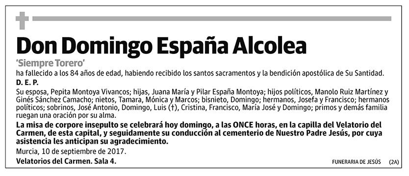 Domingo España Alcolea