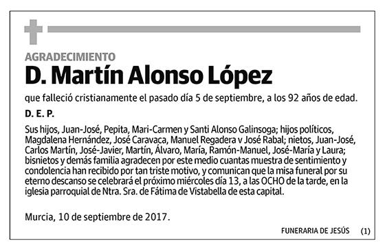 Martín Alonso López