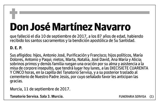 José Martínez Navarro