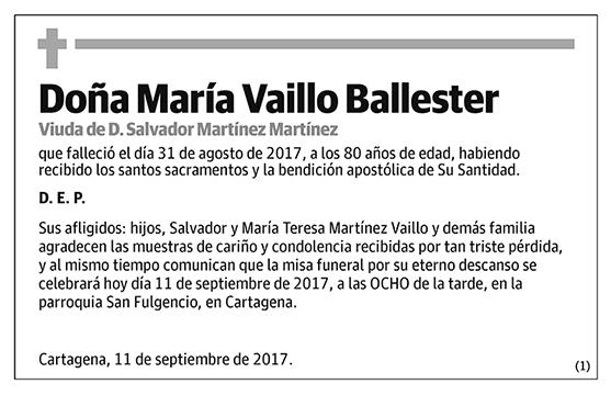 María Vaillo Ballester
