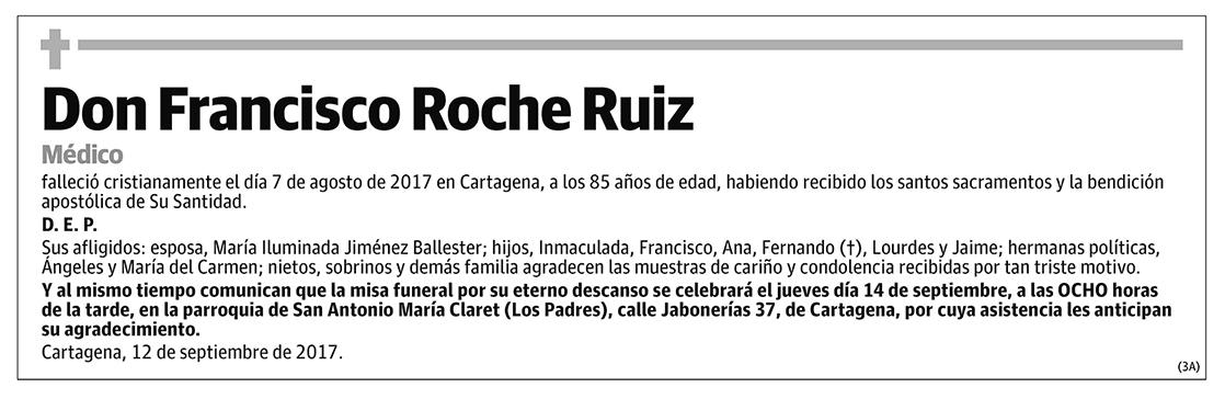 Francisco Roche Ruiz