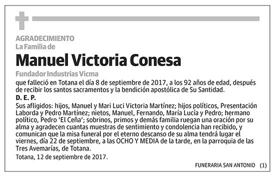 Manuel Victoria Conesa