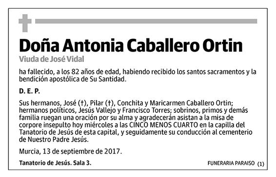 Antonia Caballero Ortin