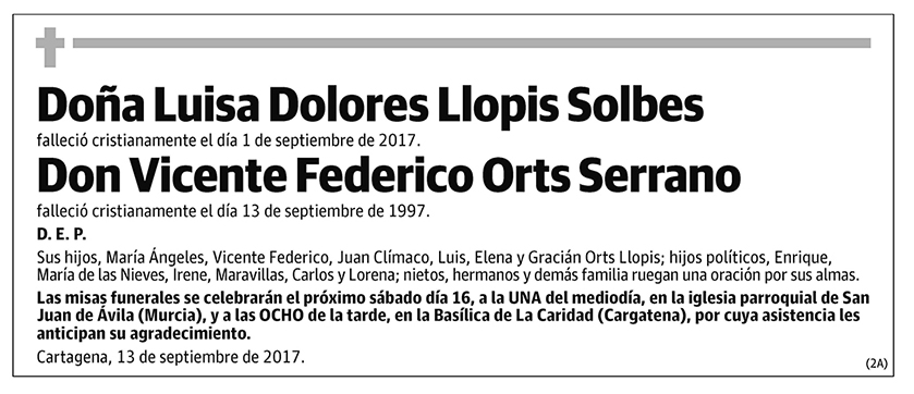 Luisa Dolores Llopis Solbes