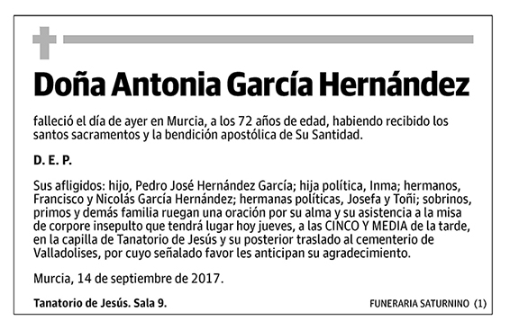 Antonia García Hernández