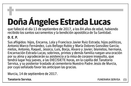 Ángeles Estrada Lucas