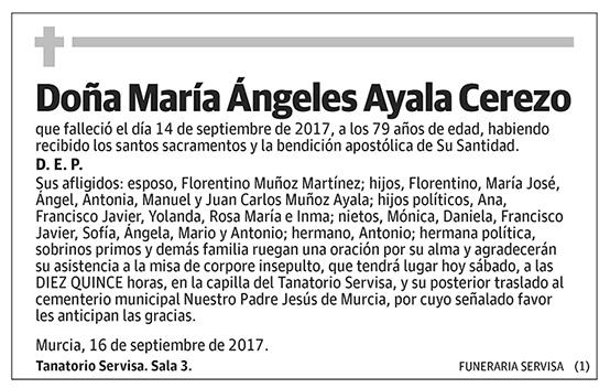 María Ángeles Ayala Cerezo