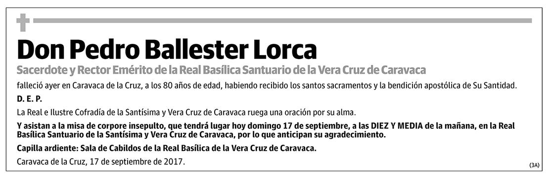 Pedro Ballester Lorca
