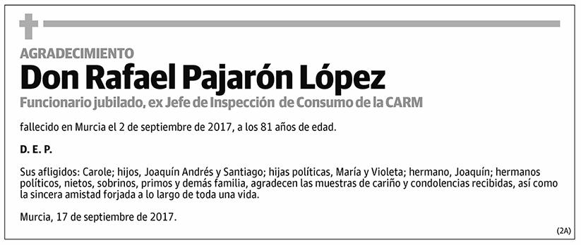 Rafael Pajarón López