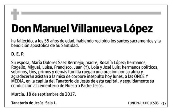 Manuel Villanueva López