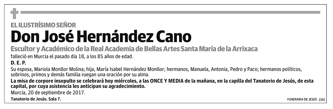 José Hernández Cano
