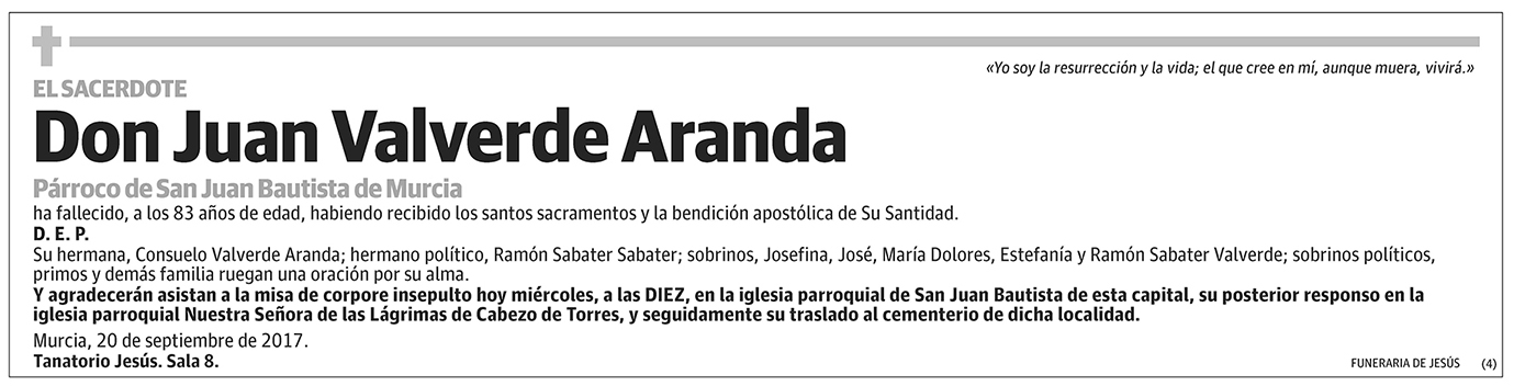 Juan Valverde Aranda