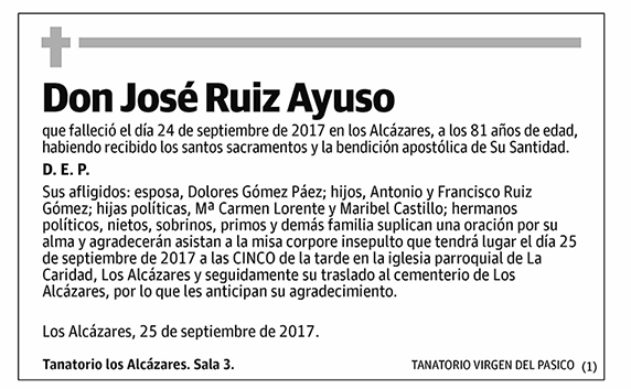 José Ruiz Ayuso