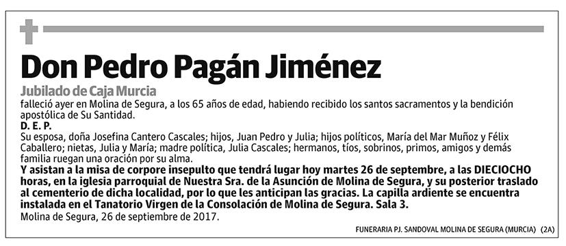Pedro Pagán Jiménez