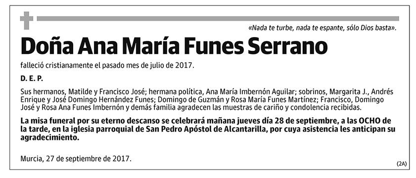 Ana María Funes Serrano