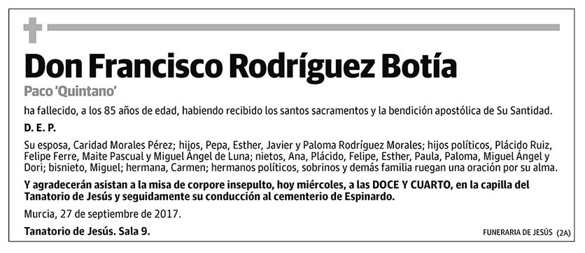 Francisco Rodríguez Botía