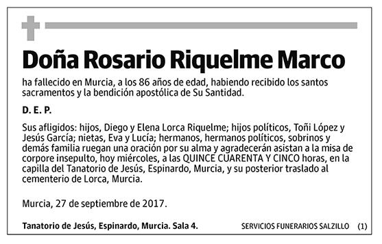 Rosario Riquelme Marco