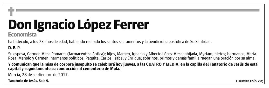 Ignacio López Ferrer