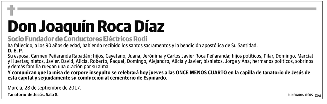 Joaquín Roca Díaz