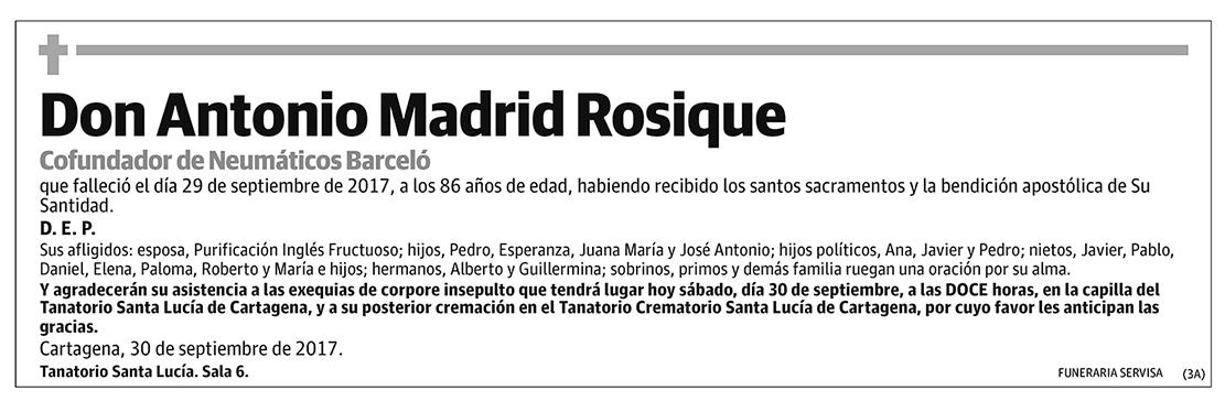 Antonio Madrid Rosique