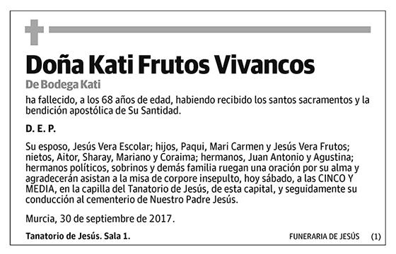 Kati Frutos Vivancos